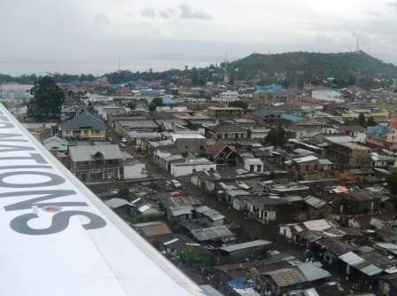 Landing in Goma