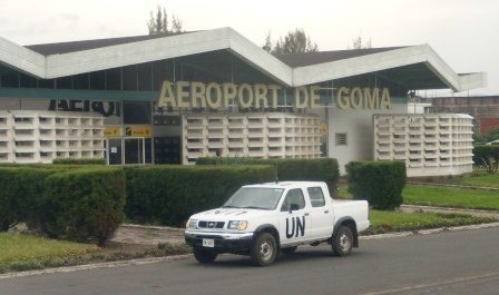 Goma airport building