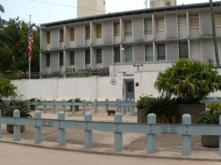 US embassy in the DRC capitol
